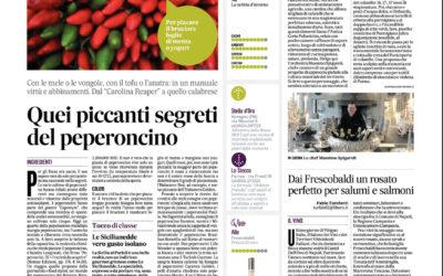 Peperoncini, Il Messaggero, 23.5.2017