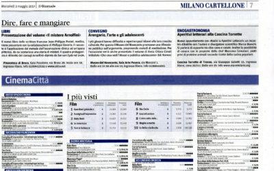 Che cosa vedi?, Il Giornale-Milano, 3.5.2017
