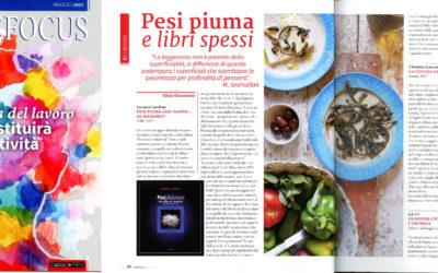 La cucina di Afrodite, Varese Focus, maggio.2017