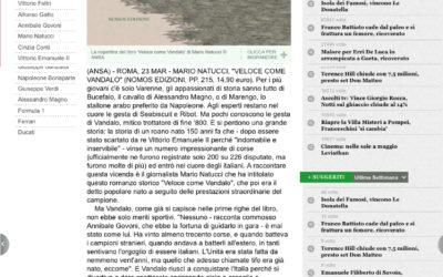 Veloce come Vandalo, ansa.it, 23.03.2015
