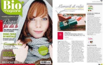 Regali che rendono felici, Bio Magazine, dicembre.2015