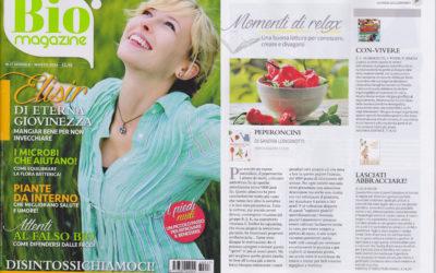 Peperoncini, Bio Magazine, marzo.2016