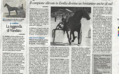 Veloce come Vandalo, Cavallo Magazine, giugno.2015