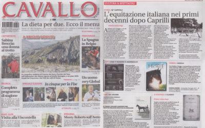 Veloce come Vandalo, Cavallo magazine, marzo.2015