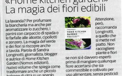 Home kitchen garden, Corriere della sera, 3.6.2016