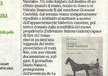 Veloce come Vandalo, Corriere della sera, 13.07.2015