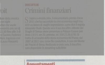 Coworkingprogress, Corriere della Sera – Milano, 06.11.2013