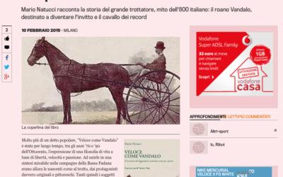 Veloce come Vandalo, gazzetta.it, 10.02.2015