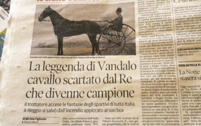 Veloce come Vandalo, Gazzetta di Reggio, 20.02.2015