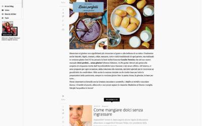 Dolci Perfetti, glamour.it, 5.11.2015