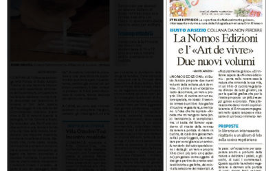 Ricette che mi vengono bene, Il Giorno – Varese, 16.11.2014
