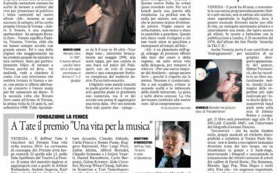 Pics off!, Il Gazzettino, 9.4.2016
