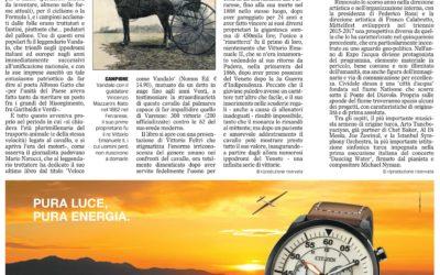 Veloce come Vandalo, Il gazzettino, 10.02.2015