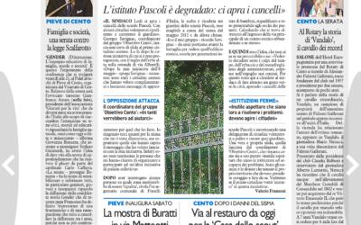 Veloce come Vandalo, Il resto del Carlino – Ferrara, 13.05.2015