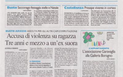 Le mie due vite, Il Giorno – Varese, 11.12.2015