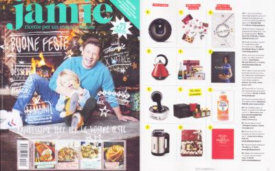 Regali che rendono felici, Jamie Magazine, dicembre.2015