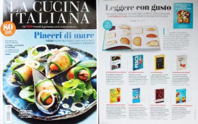 Home kitchen garden, La Cucina Italiana, agosto.2016