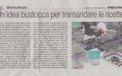 Ricette che mi vengono bene, La Prealpina, 21.11.2014