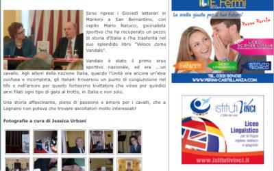 Veloce come Vandalo, legnanonews.com, 30.1.2015