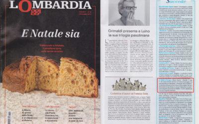 Le mie due vite, Lombardia Oggi, 6.12.2015