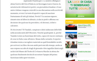 Veloce come Vandalo, panorama.it, 02.03.2015
