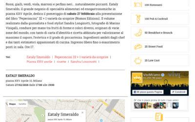 Peperoncini, vivimilano.corriere.it, 23.2.2016