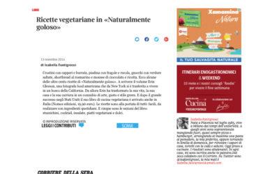 Naturalmente goloso, cucina.corriere.it, 13.11.2014