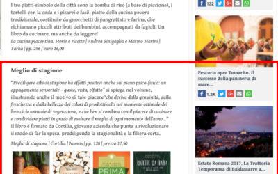 Meglio di stagione!, gamberorosso.it, 13.5.2017