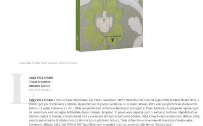 Tutte le poesie, ilpostodelleparole.it, 15.7.2017