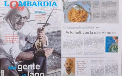 La cucina di Afrodite, Lombardia Oggi, 21.7.2017