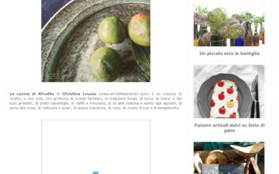 La cucina di Afrodite, lortodimichelle.it, 6.7.2017