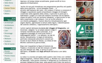 Gli affreschi di Antonio da Tradate in San Michele a Palagnedra, artevarese.com, 18.07.2015