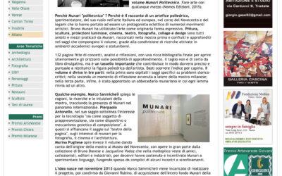 Munari Politecnico, artevarese.it, 25.03.2016