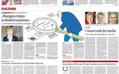 Munari Politecnico, Corriere del Ticino, 05.03.2016