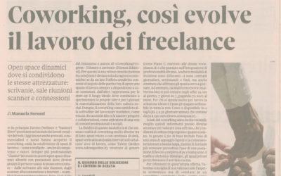 Coworkingprogress, Il Sole 24 ore, 17.02.2014