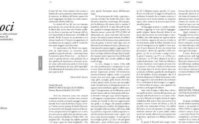 Partiture d'acqua e di terra, Quaderni d'arenaria, ottobre.2013