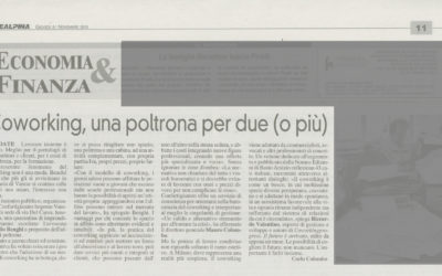 Coworkingprogress, La Prealpina, 21.11.2013