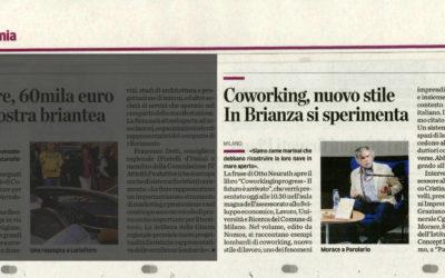 Coworkingprogress, La Provincia di Como, 07.11.2013