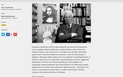Munari Politecnico, zero.eu, 20.11.2015