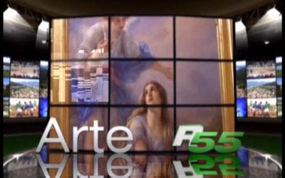 Gli affreschi di Antonio da Tradate in San Michele a Palagnedra, Rete 55 – Arte, 24.07.2015