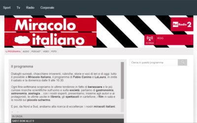 Pics off!, Varese Focus, Rai Radio 2 – Miracolo Italiano, 10.4.2016