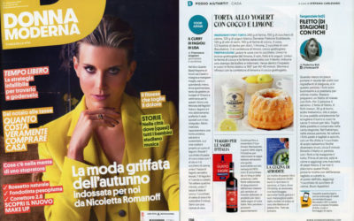 La cucina di Afrodite, Donna Moderna, 20.09.2017