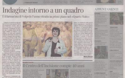L'uomo col cappello, Corriere della Sera – Milano, 07.05.2015