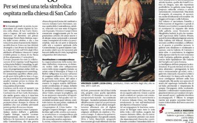 Le intelligenze dell'arte, Corriere del Ticino, 1.04.2017