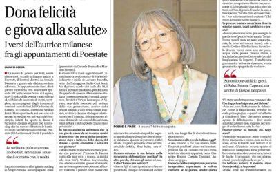 L'uomo col cappello, Corriere del Ticino, 05.06.2015