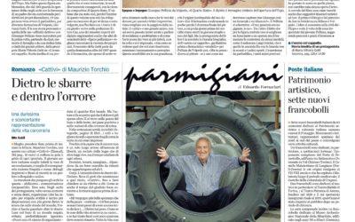 L'uomo col cappello, Gazzetta di Parma, 17.5.2015
