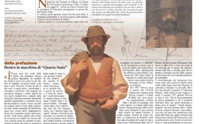 L'uomo col cappello, Giornale di Voghera, 07.05.2015