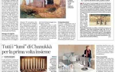 L'uomo col cappello, La Stampa – Alessandria, 07.05.2015