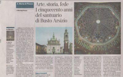 Santa Maria di Piazza in Busto Arsizio, Corriere della Sera – Milano, 4.11.2017