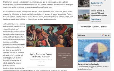 Santa Maria di Piazza in Busto Arsizio, legnanonews.com, 3.11.2017
